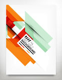 Flyer, Brochure Design Template Royalty Free Stock Image