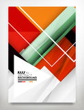 Flyer, Brochure Design Template Royalty Free Stock Photography