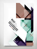 Flyer, Brochure Design Template Stock Photos
