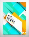 Flyer, Brochure Design Template Stock Image