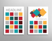 Flyer, Brochure Design Template vector illustration