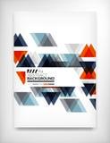 Flyer, Brochure Design Template, Layout Stock Photos