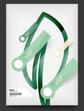 Flyer, Brochure Design Template Stock Photo