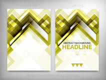 Flyer, Brochure Design Templates, Layouts Royalty Free Stock Photography