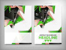 Flyer, Brochure Design Templates, Layouts Stock Photography