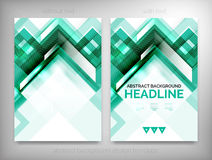 Flyer, Brochure Design Templates, Layouts Stock Photo