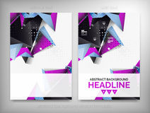 Flyer, Brochure Design Templates, Layouts Stock Photo