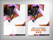Flyer, Brochure Design Templates, Layouts Stock Images