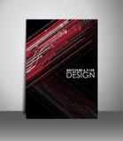 Flyer or brochure design. Stock Photos