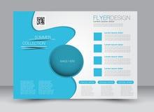 Flyer, brochure, magazine cover template design landscape orientation Royalty Free Stock Image