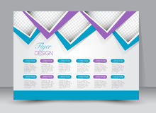 Flyer, brochure, magazine cover template design landscape orientation Royalty Free Stock Image