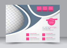Flyer, brochure, magazine cover template design landscape orientation Stock Photo