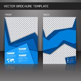 Flyer brochure template Stock Image