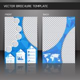 Flyer brochure template Stock Photo
