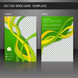 Flyer brochure template Royalty Free Stock Photo