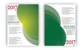 Flyer Brochure Wave Design Templates Vector Royalty Free Stock Photos