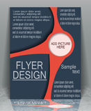Flyer business. Royalty Free Stock Images