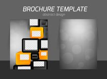 Flyer business design Royalty Free Stock Photo