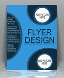 Flyer business. Royalty Free Stock Photos