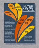 Flyer business. Stock Images