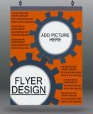 Flyer business. Stock Photos