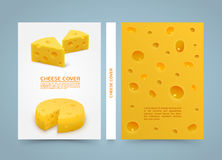 Flyer cheese banner book. A4 size paper, Template design element, Vector background. Flyer cheese banner book. A4 size paper, Template design element, Vector Vector Illustration