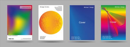 Flyer cover business brochure vector design, Leaflet advertising abstract background, Modern poster magazine layout. Template, Annual report for presentation Royalty Free Stock Images