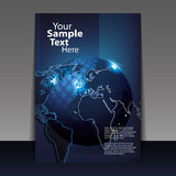 Flyer or Cover Design Stock Image