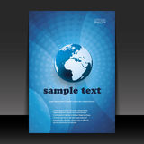 Flyer or cover design Royalty Free Stock Images