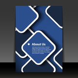Flyer or Cover Design Stock Photos