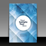 Flyer or Cover Design Stock Photography
