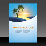Flyer or Cover Design Stock Photo