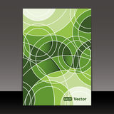 Flyer or Cover Design Royalty Free Stock Photography