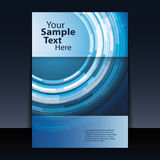 Flyer or Cover Design Stock Images