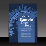 Flyer or Cover Design Royalty Free Stock Image