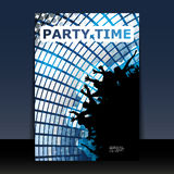 Flyer or Cover Design - Party Time Royalty Free Stock Images