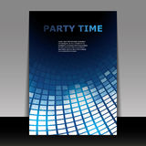 Flyer or Cover Design - Party Time Royalty Free Stock Photography