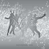Flyer or Cover Design - Party Time Royalty Free Stock Photos