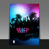 Flyer or Cover Design - Party Time Stock Images
