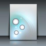 Flyer design. Soft elegance - vector background Royalty Free Stock Image