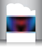 Flyer design Stock Photos