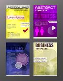 Flyer design business and technology  icons, creative template d. Esign for presentation, poster, cover, booklet, banner. eps . 10 Stock Photo