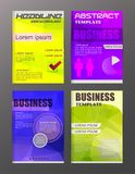 Flyer design business and technology  icons, creative template d. Esign for presentation, poster, cover, booklet, banner. eps.10 Stock Photo