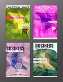 Flyer design business and technology  icons, creative template d. Esign for presentation, poster, cover, booklet, banner. eps.10 Stock Images