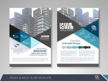 Flyer design layout Stock Photos