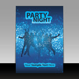 Flyer Design - Party Time Royalty Free Stock Photos