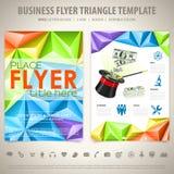 Flyer Design Template Royalty Free Stock Photos