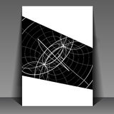 Flyer design - Vector illustration,  Stock Photo