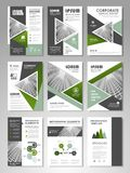 Flyer magazine cover brochure business Royalty Free Stock Photography