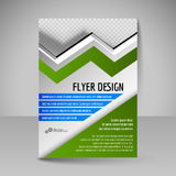 Flyer, magazine cover, brochure, template design for business ed Royalty Free Stock Photos
